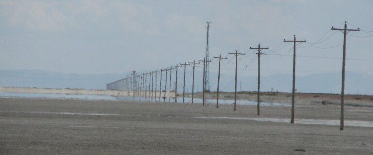 Salt Flats Telephone Poles